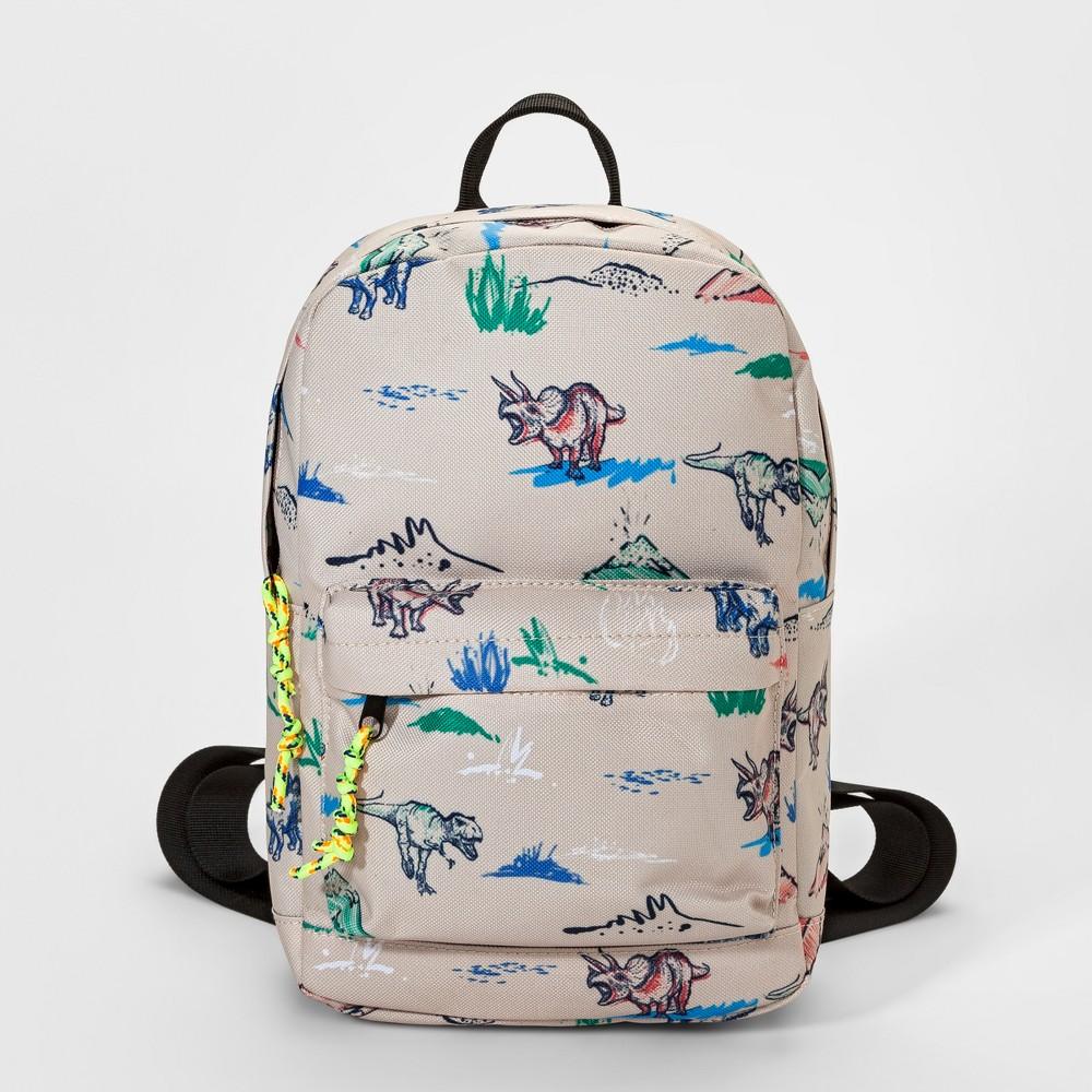 Toddler Boys' Dinosaur Backpack Handbag - Cat & Jack Tan