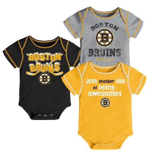 NHL Baby Boys' 3pk Bodysuit Set - image 1 of 4