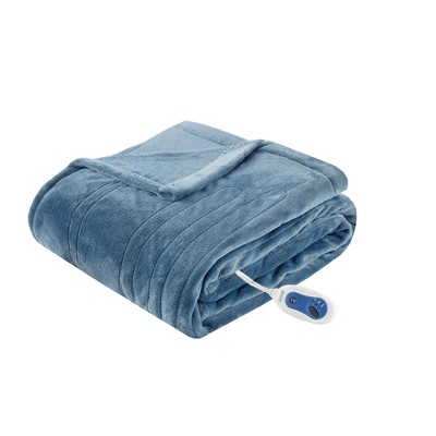 Heated Plush Throw - Beautyrest