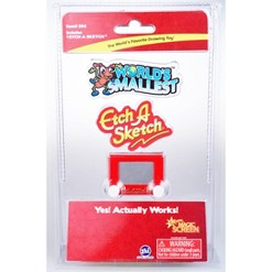 World's Smallest Etch a Sketch, Red