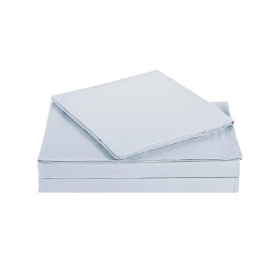 Queen Everyday Microfiber Solid Sheet Set Silver - Truly Soft