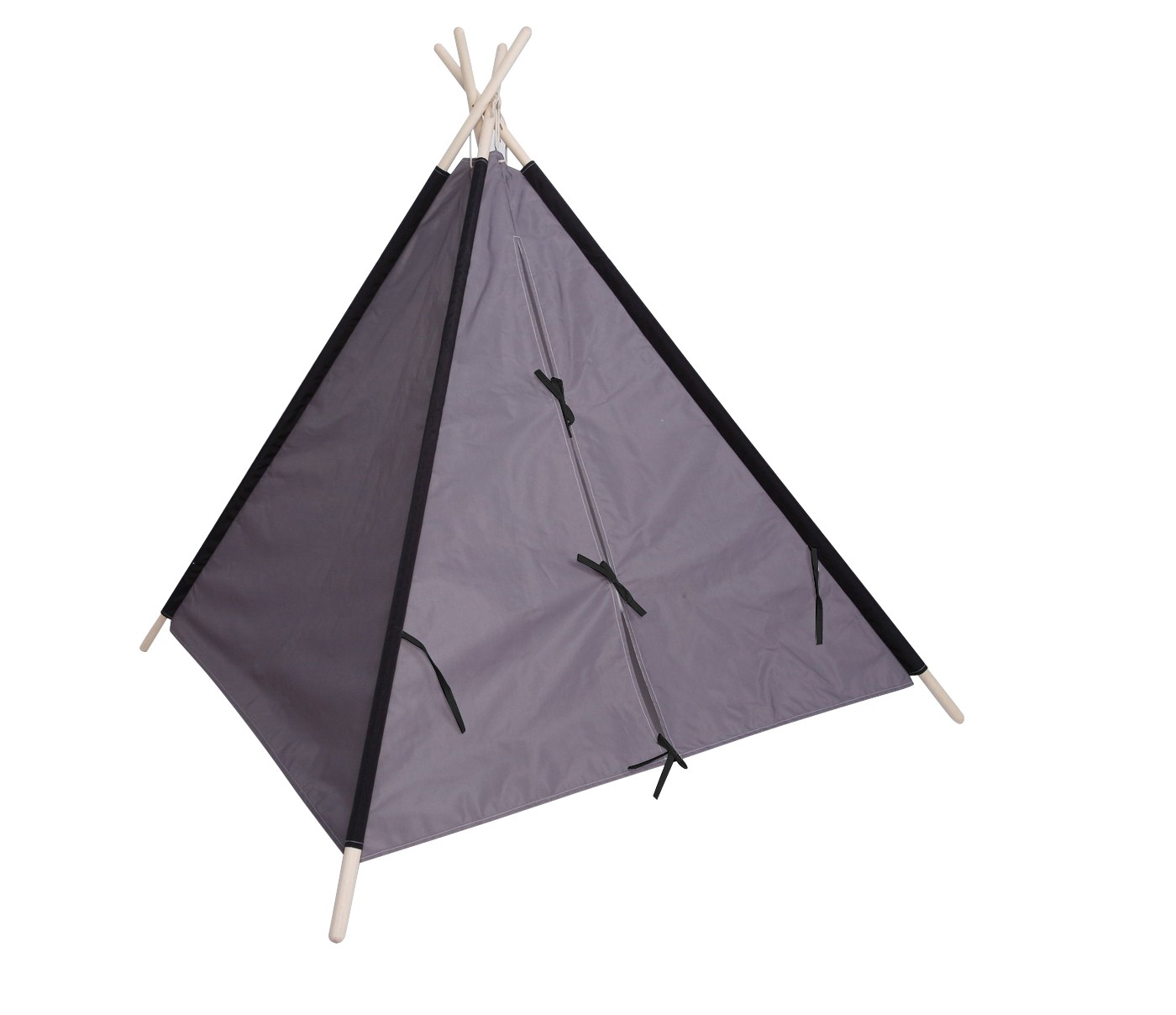 Tall Teepee Solid - Gray - Pillowfort™ - image 2 of 2