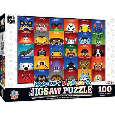 NHL Mascot 100pc Puzzle