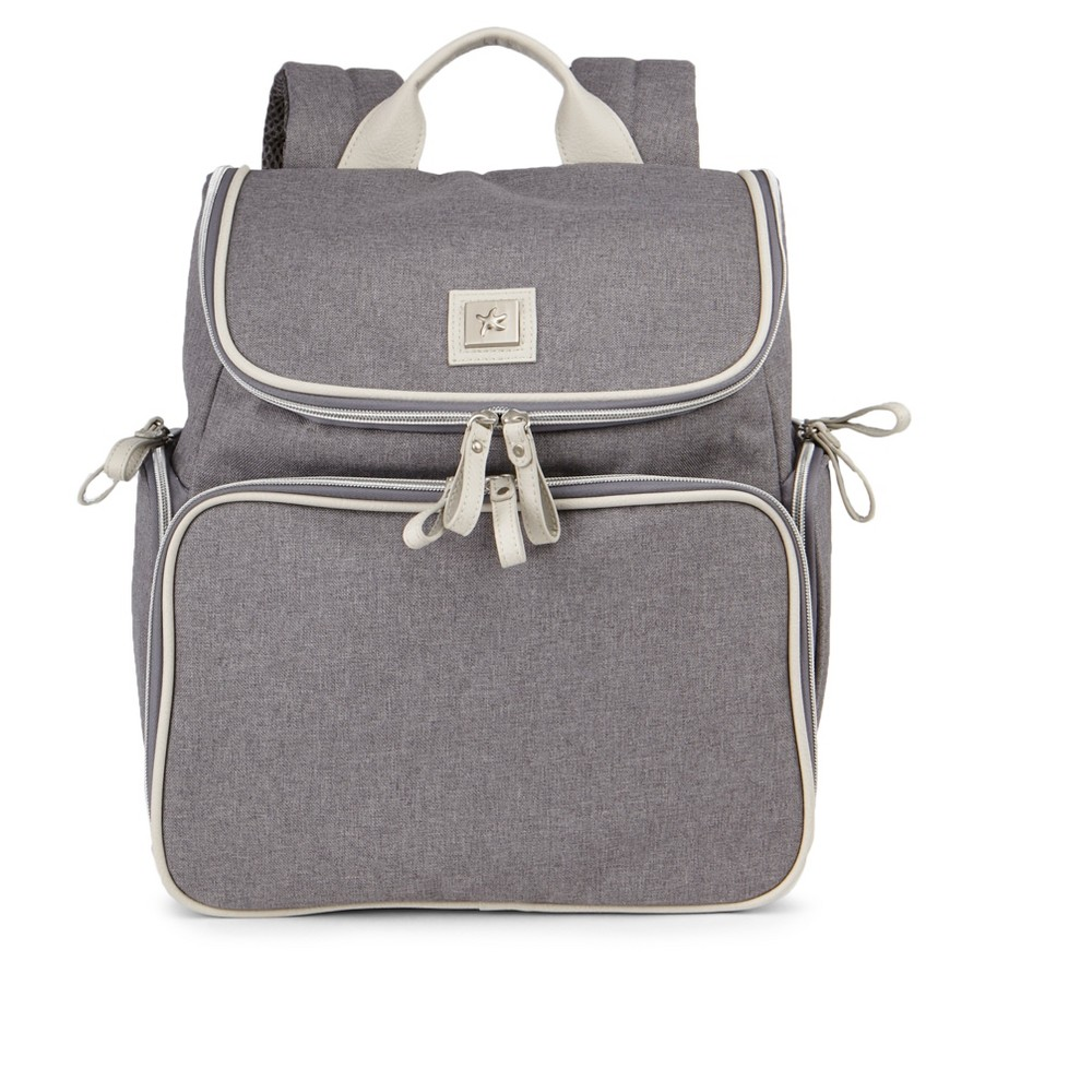 Image of Bananafish Breast Pump Backpack - Grey/Bone