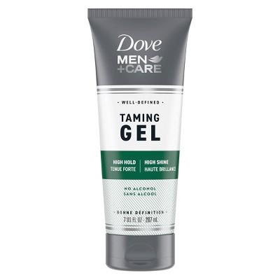 Dove Men + Care High Hold & Shine Alcohol Free Taming Hair Gel - 7 fl oz