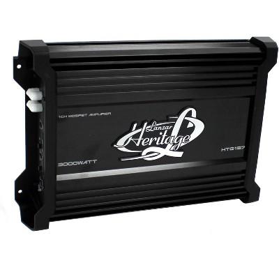 LANZAR HTG137 Lanzar MONO BLOCK MOSFET AMPLIFIER 2000W Max