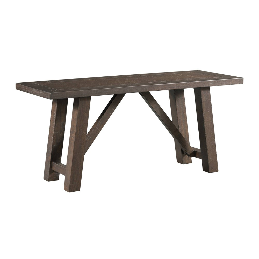 Carter Dining Bench Graphite Gray - Picket House Furnishings