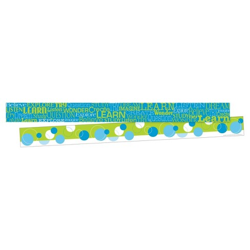 Barker Creek® Bulletin Board Double-Sided Border - Word Wall - image 1 of 4