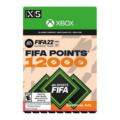 FIFA 22: Ultimate Team Points - Xbox Series X|S/Xbox One (Digital)