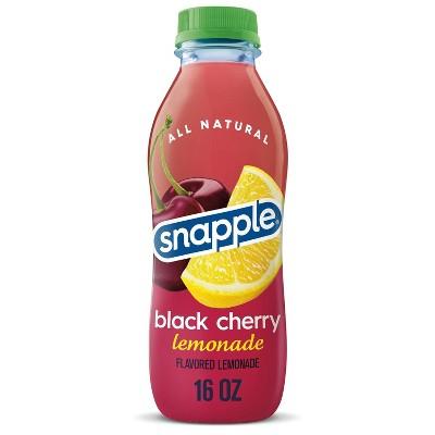 Snapple Black Cherry Lemonade - 16 fl oz Bottle