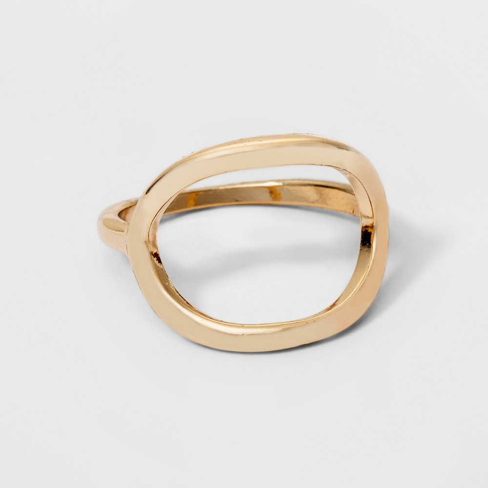 Open Circle Ring - A New Day Gold