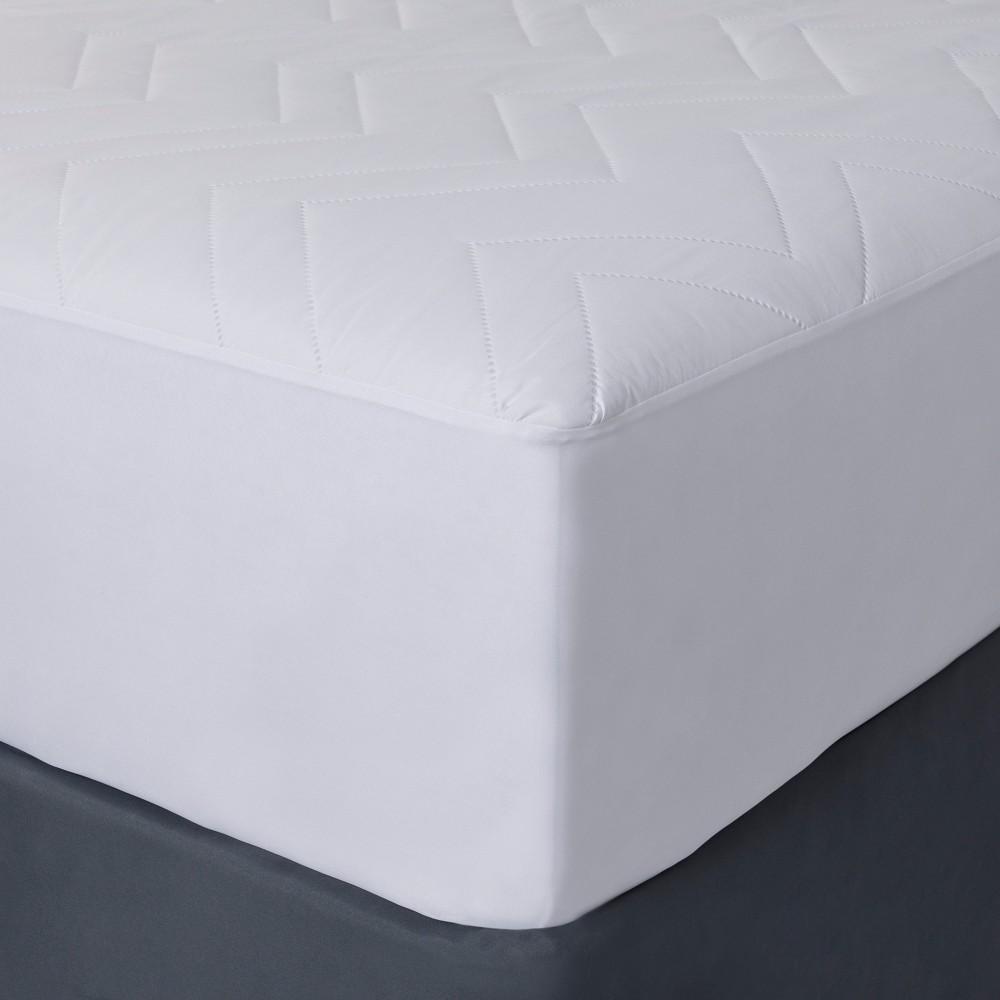 Mattress Pad (King) - Room Essentials, White