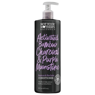 Naturals Activated Bamboo Charcoal & Purple Moonstone Restore & Reclaim Clarifying Conditioner - 16 fl oz