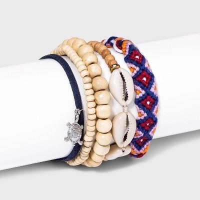 Friendship Beaded Bracelet Set 5pc - Wild Fable™