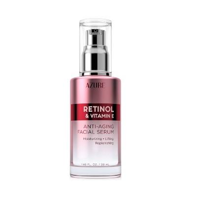 Azure Skincare Retinol & Vitamin E Anti-Aging Face Serum - 1.69 fl oz