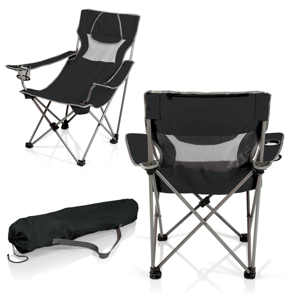 Image of Picnic Time Campsite Chair - Black