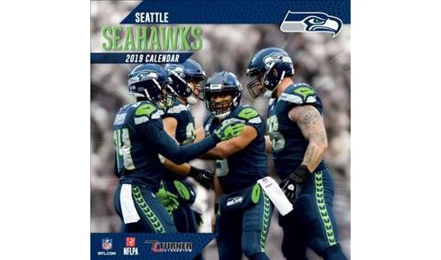 Seattle Seahawks 2019 Calendar -  (Paperback) - image 1 of 1
