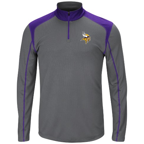Minnesota Vikings Men's Classic Victory Quarter Zip Pullover - image 1 of 2