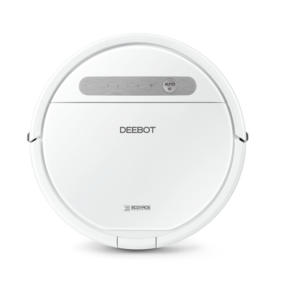 Image of ECOVACS DEEBOT OZMO610 2-in-1 Multi-Surface Vacuuming and Mopping Robot, White