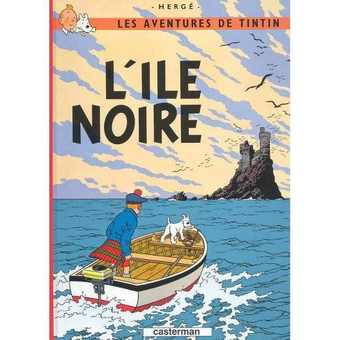 L'Ile Noir - (Tintin) (Hardcover) - image 1 of 1