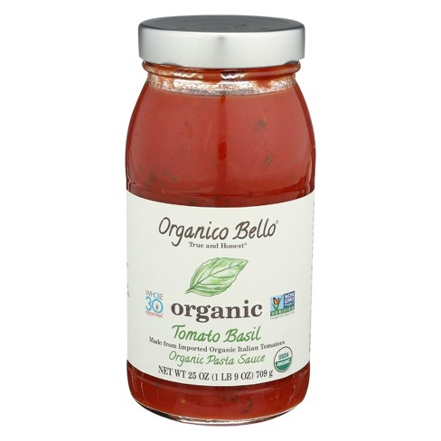 Organico Bello Tomato Basil Pasta Sauce 25oz - image 1 of 4