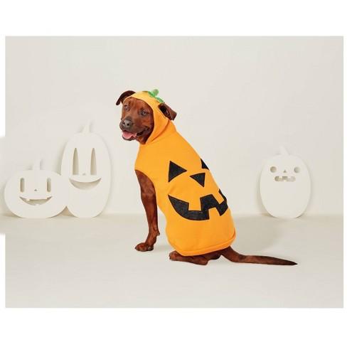 Pumpkin Hoodie Dog Costume - XL - Hyde & EEK! Boutique™ - image 1 of 1