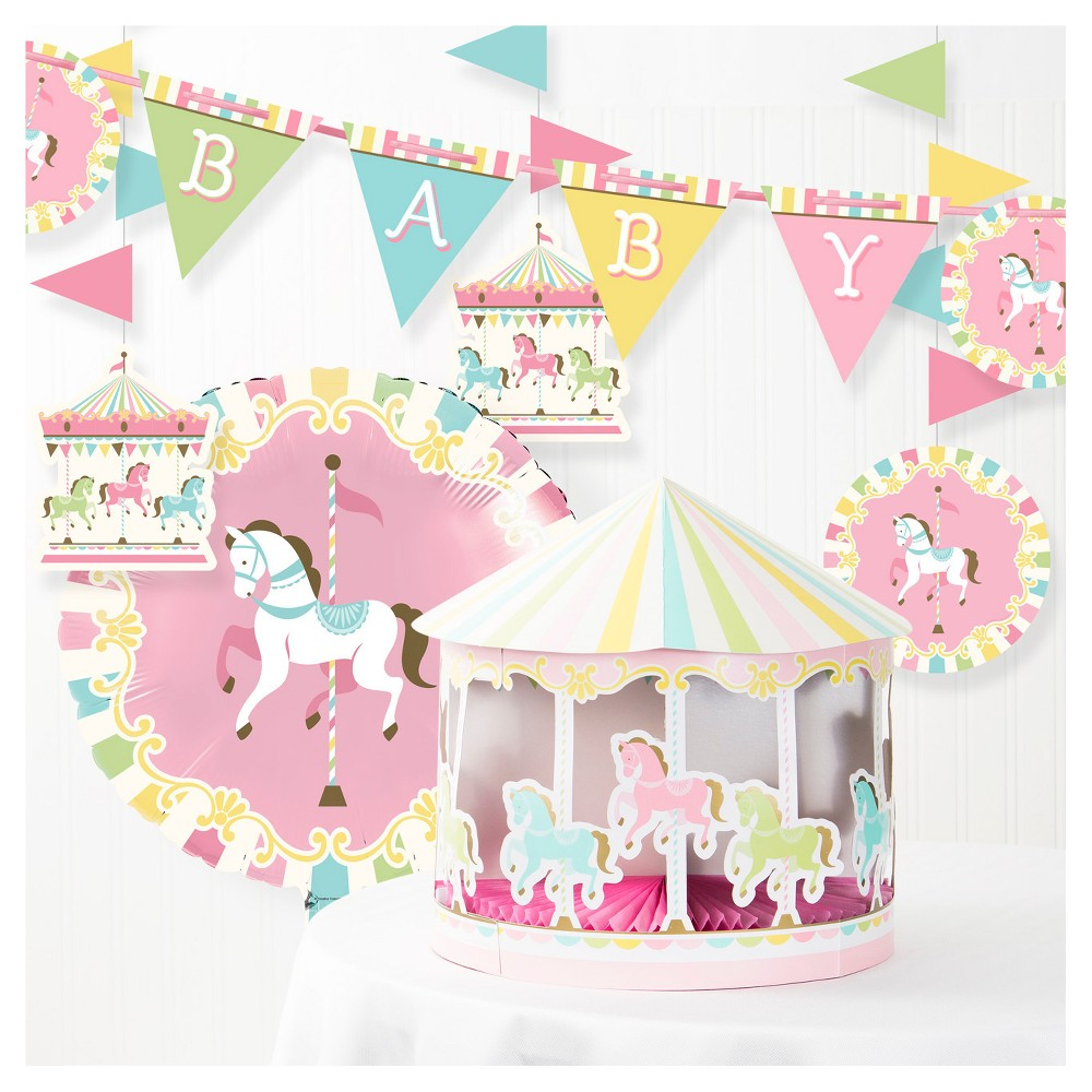 Best Discount Creative Converting Pink Party Decorating Kit
