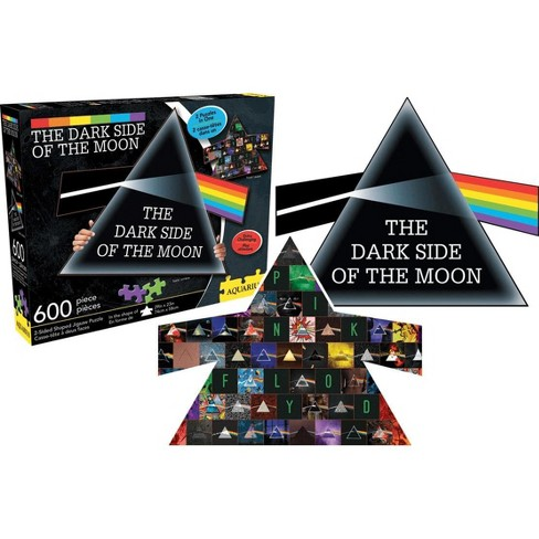 NMR Distribution Pink Floyd Dark Side of the Moon 600 Piece Shaped 2 Sided Jigsaw Puzzle - image 1 of 4