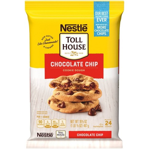 Nestle Tollhouse Chocolate Chip Cookie Dough - 16.5oz - image 1 of 4
