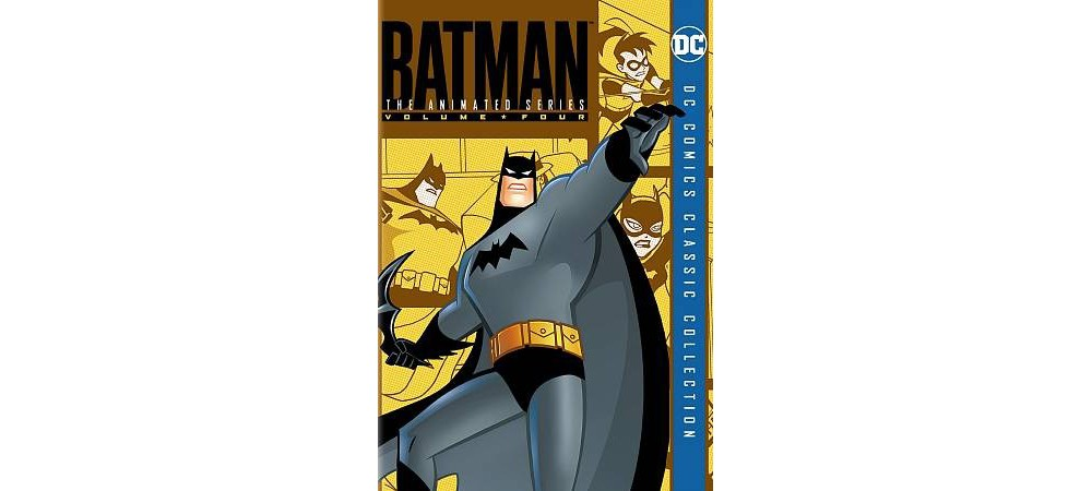 Batman Animated Series Vol 4 (Dvd)