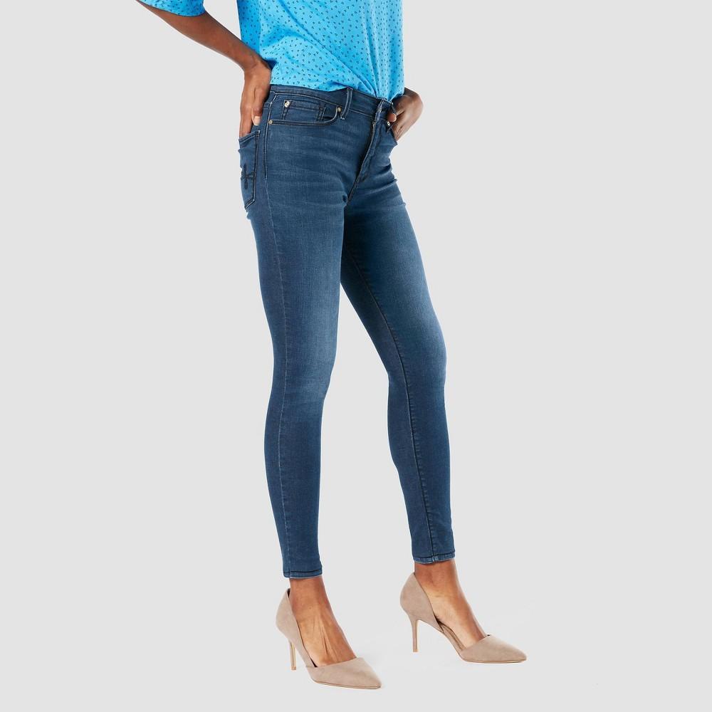 Denizen 174 From Levi 39 S 174 Women 39 S High Rise Skinny Jeans Blue Mine 6