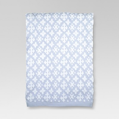 Cross Bath Towels Blue - Threshold™