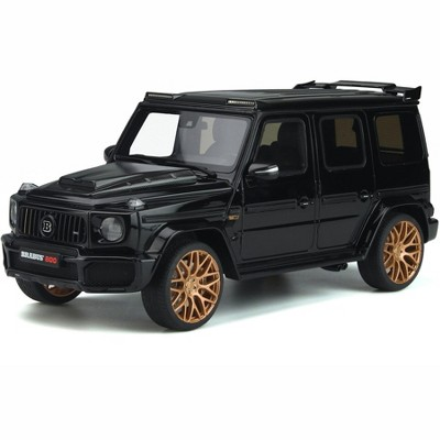 Mercedes Benz Brabus 800 Black and Gold Edition 1/18 Model Car by GT Spirit