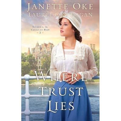 Where Trust Lies - (Return to the Canadian West) by  Janette Oke & Laurel Oke Logan (Paperback)