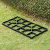 Gardenised Decorative Pavement Mold Cement Form Stamp Walkway Maker Patio Stepping Stone Pavers Reusable Pathway Mould, 2 Pack - image 4 of 4