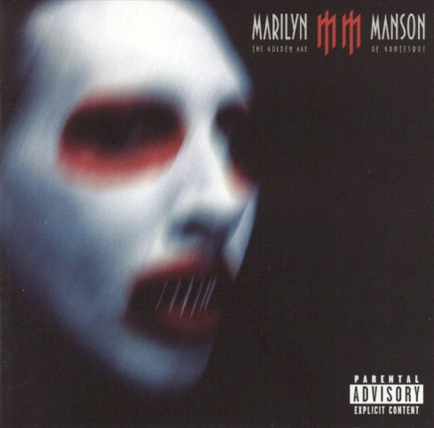 Marilyn manson - Golden age of grotesque [Explicit Lyrics] (CD) - image 1 of 1