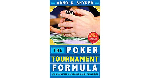 The Poker Tournament Formula (Paperback) - image 1 of 1