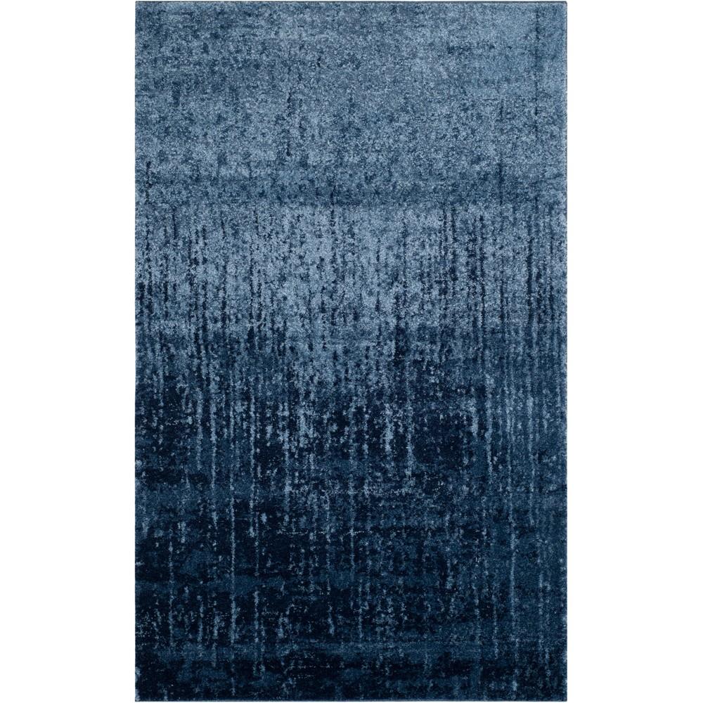 Fleck Loomed Area Rug Blue