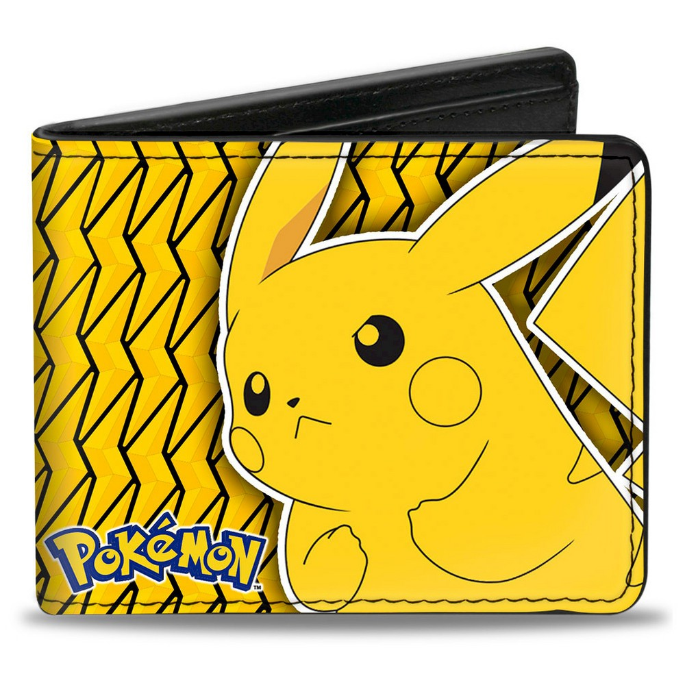 Wallet Pokemon Yellow Fictitious Character, Men's