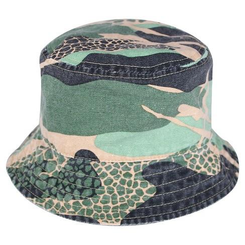 b5fc091681d Toddler Boys  Camo Bucket Hat Circo™ - Green 2T-5T   Target