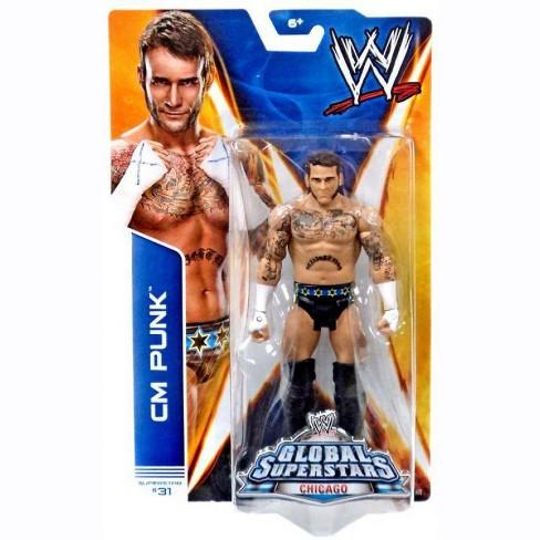 Series 18 CM Punk vs Ringside Barricade Triple H Action Figure 2-Pack