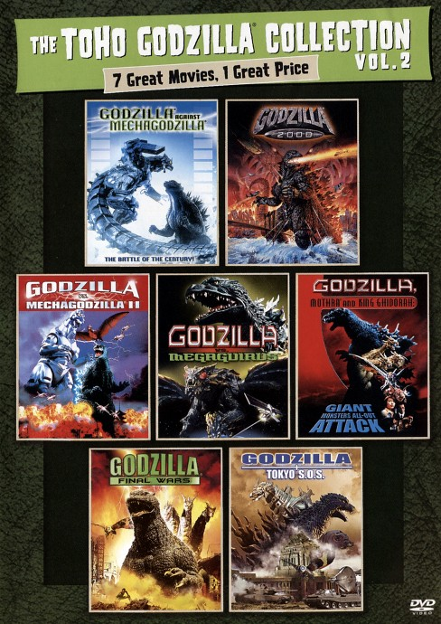 Godzilla 2000/Mechagodzilla2/Against (DVD) - image 1 of 1