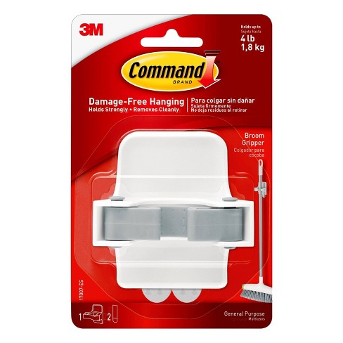Command Broom Gripper (1 Gripper 2 Strips) - image 1 of 4