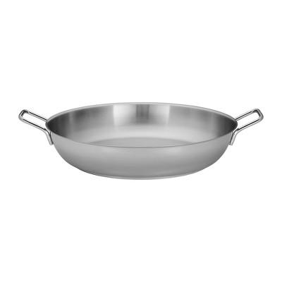 Demeyere Resto 14.8-qt Stainless Steel Paella Pan