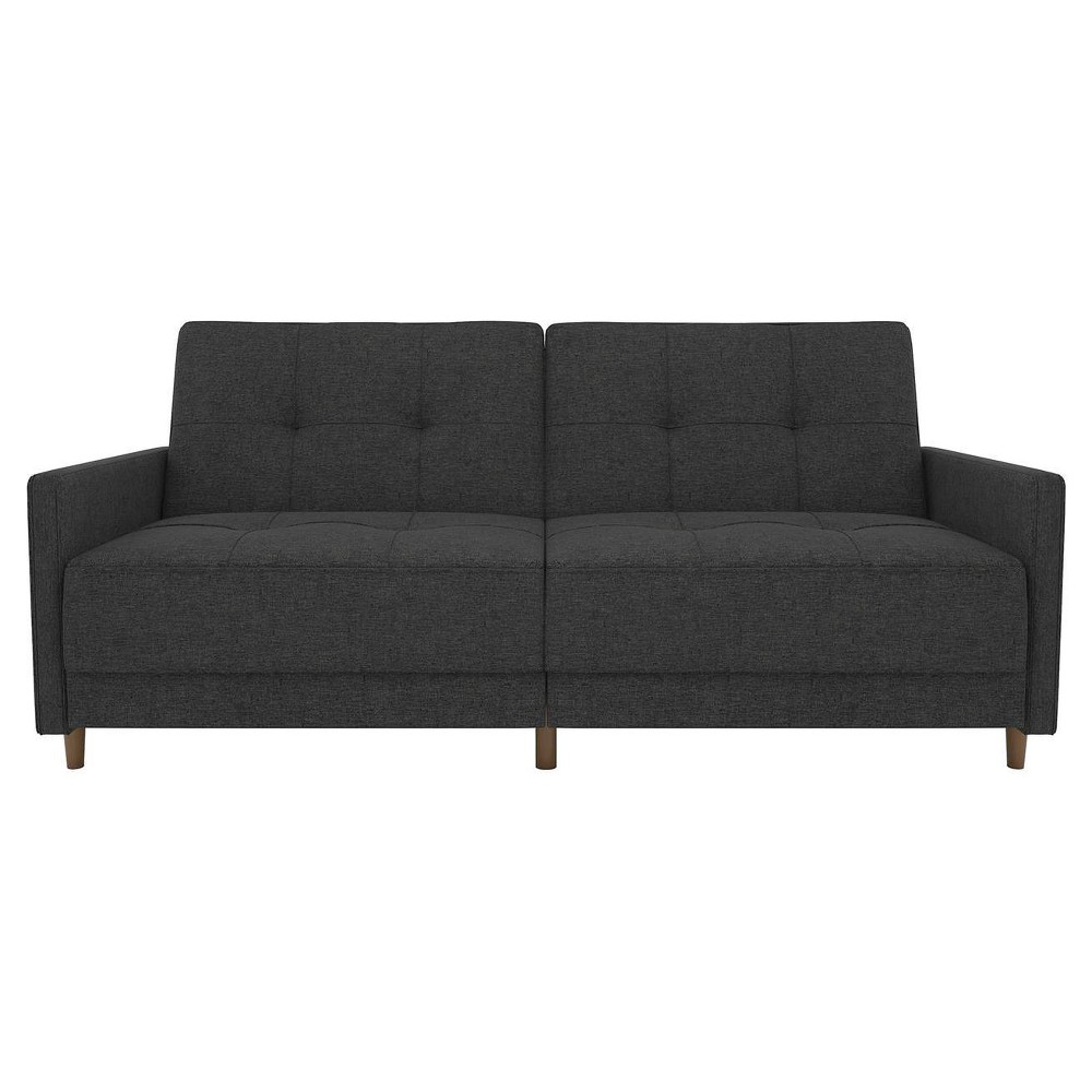 Image of Andora Coil Futon Gray Linen - Dorel Home Products