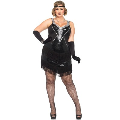 Leg Avenue Glamour Flapper Plus Size Costume