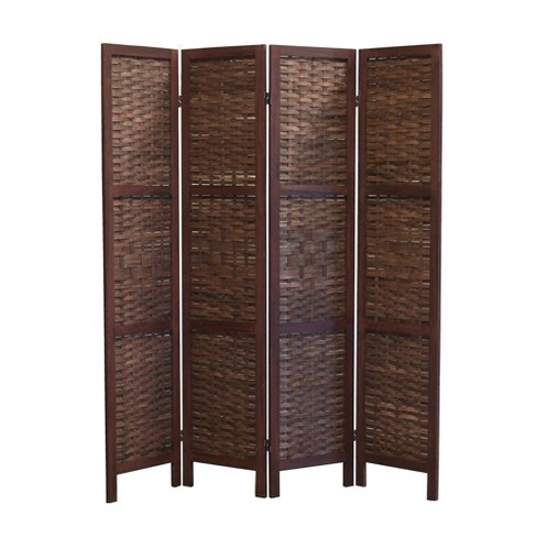 Saigon Room Divider Screen 4 Panel Proman Products Target
