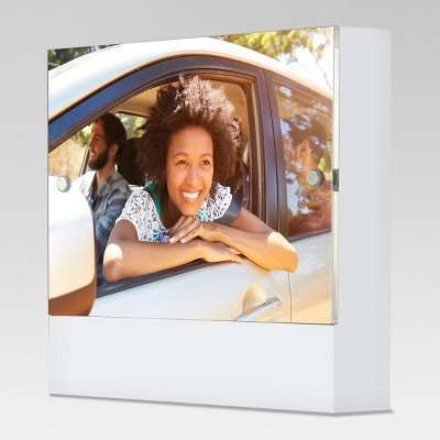 Acrylic Block Frame 4x6 - White - Project 62™