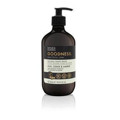 Baylis & Harding Hand Wash Soap Oud Cedar and Amber - 16.9 fl oz