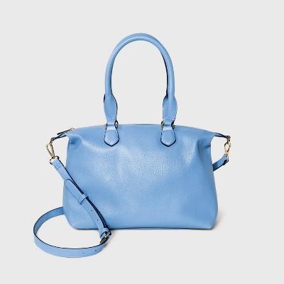 Soft Mid Size Satchel Handbag - A New Day™